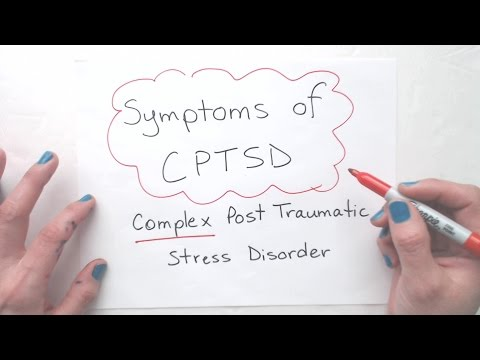 Symptoms of CPTSD Complex Post Traumatic Stress Disorder