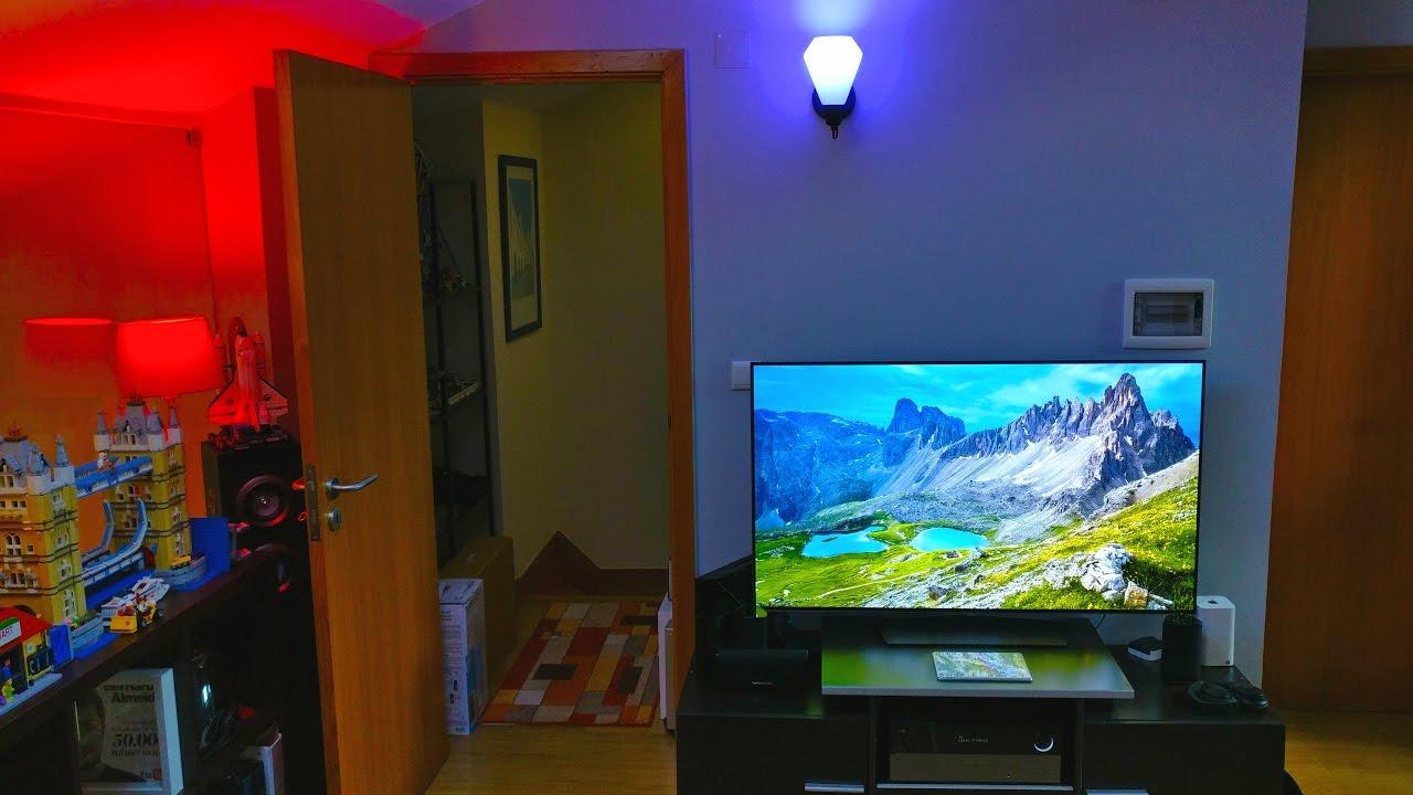setup de sonho pt 14 tv oled 4k brutal youtube. Black Bedroom Furniture Sets. Home Design Ideas