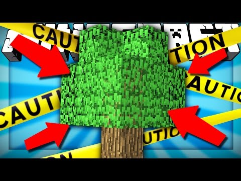 If There was Only ONE TREE in ALL of Minecraft