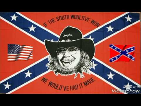 """If heaven ain't allot like Dixie"" Hank Williams Jr"