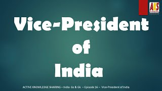 Vice-President of India