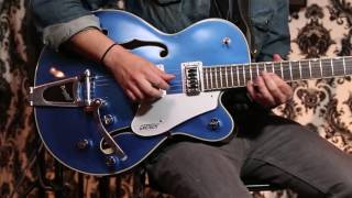 G5420T Electromatic Hollow Body Single-Cut with Bigsby: Overdriven Chords with Lead Demo