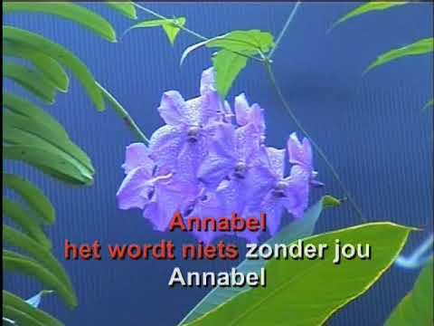 Hans de Booy -  Annabel ( KARAOKE ) Lyrics
