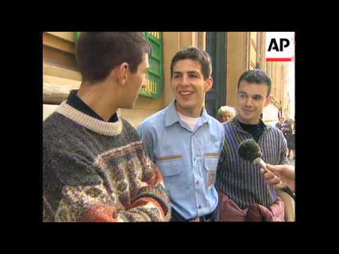 ITALY: POLLING BEGINS IN PARLIAMENTARY ELECTIONS