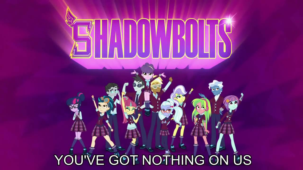 {vietsub:tự bật lên mà xem}ACADECA My Little Pony Equestria Girls Friendship games song (MLP songs)