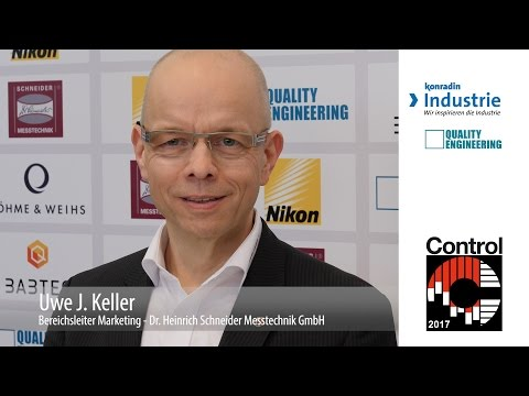 Control 2017 - Uwe J. Keller, Dr. Heinrich Schneider Messtechnik GmbH