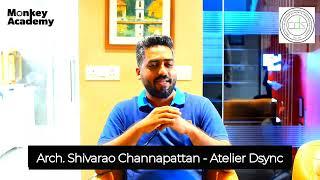 Testimonial from Arch. Shivarao Channapattan - Atelier DSync   Power Packed Workshop  Monkey Academy