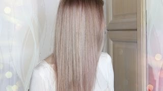 розовые волосы  L`Oreal Paris Sublime Mousse 822