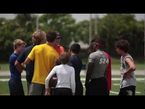 Chad Pennington-The Quarterback -Gun Footwork