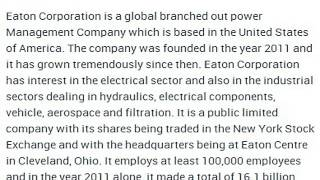 Eaton Corporation Corporate Office Contact Information Thumbnail