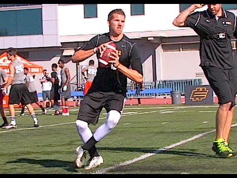 Tyler Hilinski : Elite11 Highlights 2014 (Santa Monica, CA)