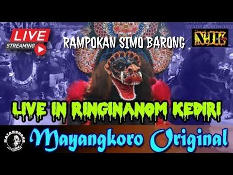 🔴 WAYAHE!!! Rampokan Simo Barong MAYANGKORO ORIGINAL Live Ringinanom Kediri 23 Juni 2019