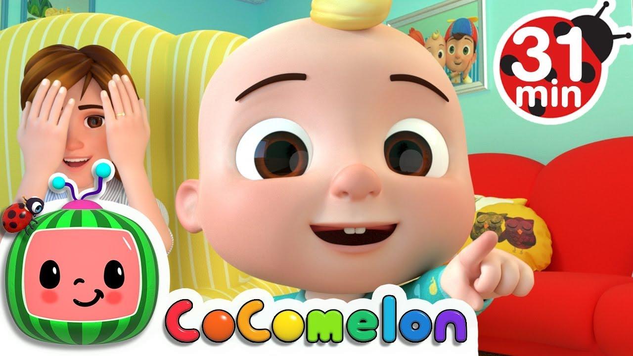 Peek A Boo + More Nursery Rhymes & Kids Songs - CoComelon