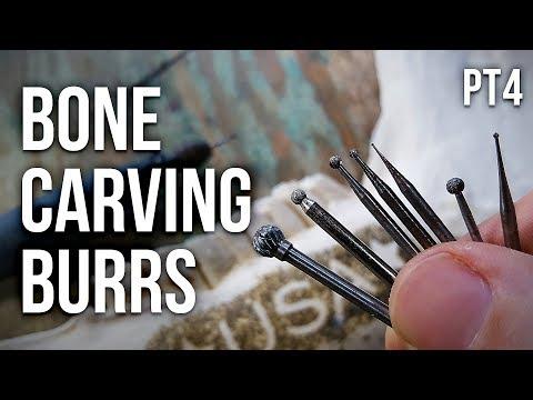 Bone Carving Burrs Tutorial Part 4 (Ball Burrs)!