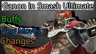 Ganondorf in Smash Ultimate (Buffs and changes)