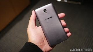 Lenovo S860 First Look and Hands On
