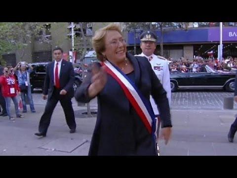 Chile: Michelle Bachelet regresa al Palacio presidencial de la Moneda