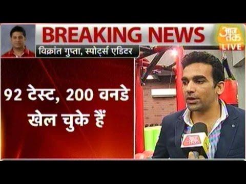 Zaheer Khan Set To Retire From International Cricket