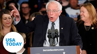 Bernie Sanders full speech at Iowa Caucus 2020 | USA TODAY