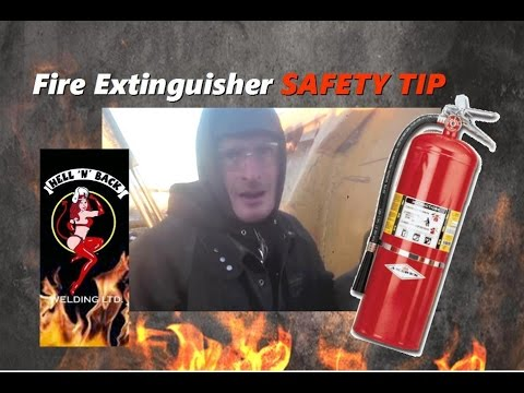 How to Make Sure A Dry Chemical Fire Extinguisher Works When You Need It