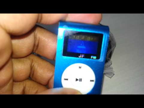 Mini mp3 player shuffle fm 8gb clip - SHOPING404