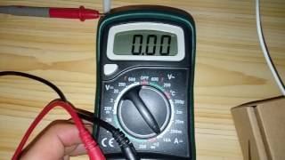 Current measurement 9/12v. LED 10w (Banggood)