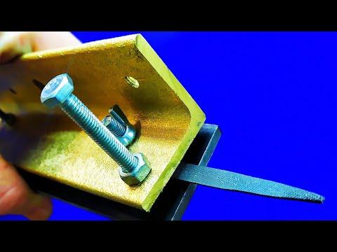 Одна из ЛУЧШИХ самоделок!!!Самоделка своими руками для спусков ножей! !