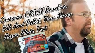 Crosman CR357 CO2 BB و بيليه كيف العديد من لوحات ورقة الاختبار