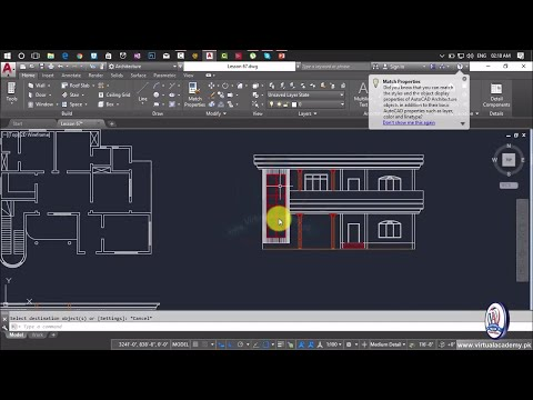 How to Making Elevation in AutoCAD | House Elevation | House