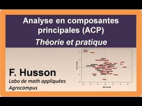 Cours d'ACP : théorie et pratique