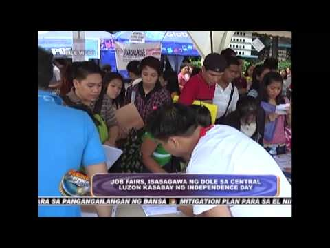 Job Fair in Central Luzon on Independence Day