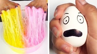 The Most Satisfying Slime ASMR Videos | Relaxing Oddly Satisfying Slime 2019 | 129 thumbnail