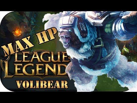 FULL HP RUNEN VOLIBEAR 🎮 League of Legends Gameplay PowrotTV
