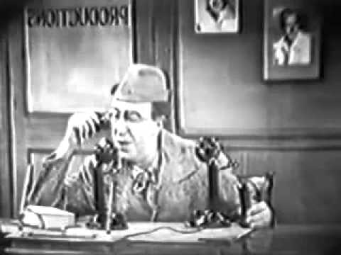 1950s The Ed Wynn Comedy  episode 27 with Gloria Swanson
