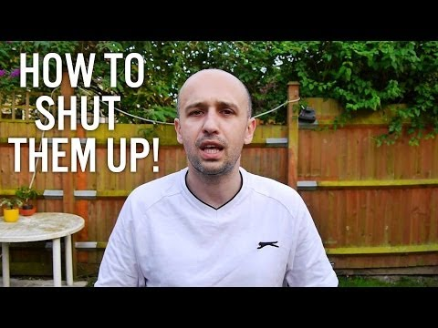 How To Deal With People Who Don't Stop Talking