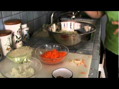 Como hacer curtido de repollo para pupusas primera parte for Como preparar repollo