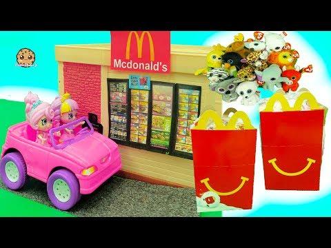 Shoppies Order Happy Meals In McDonalds Drive Thru - Beanie Boo