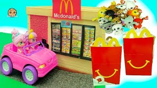 Shoppies Order Happy Meals In McDonalds Drive Thru - Beanie Boo's Toys thumbnail