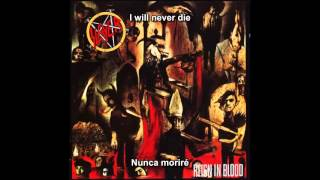 "Slayer - Reborn [""Reign In Blood"" album] (Subtítulos Español)"