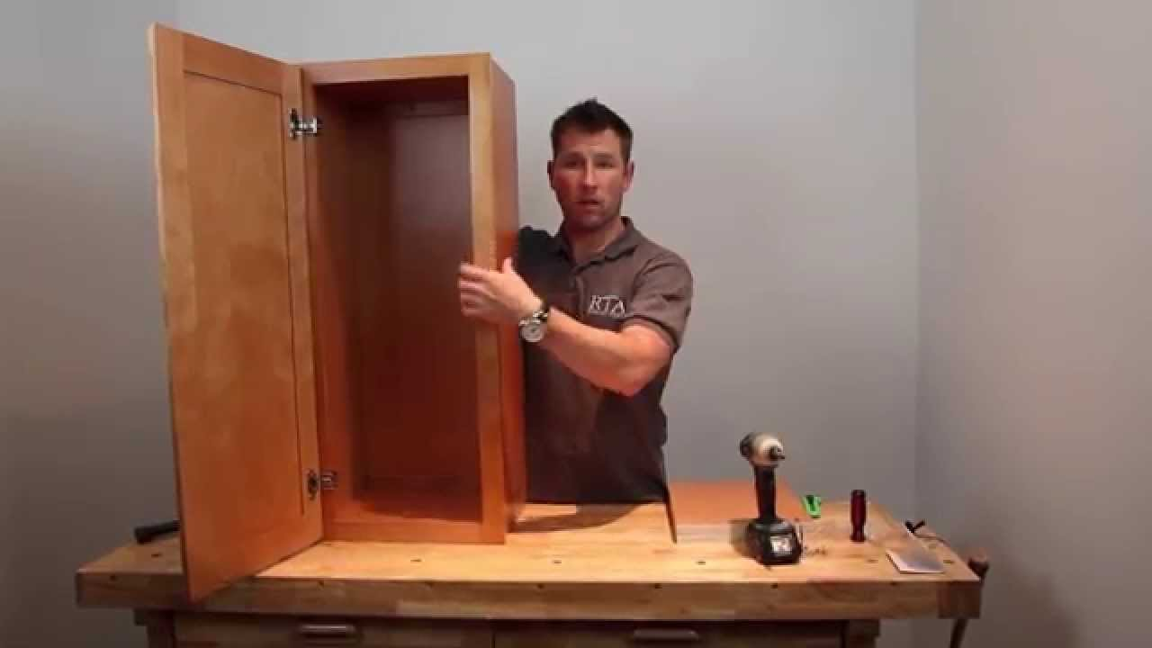 """how to"""" cabinet assembly - regular """"rta"""" wall cabinet : rta"""