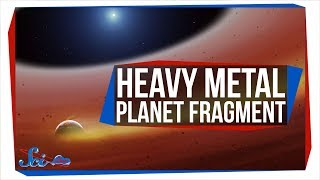 The Most Metal Planet Fragment Ever