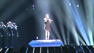Austria: 1st rehearsal Eurovision 2011 / Nadine Beiler - The Secret is Love