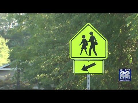 Safe Route to School program encouraging kids to walk, bike to school