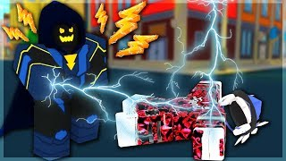 I Got The NEW BEST SKILL 'Power Strike' From The Villain (fr) Mise à jour du simulateur de puissance (ROBLOX)
