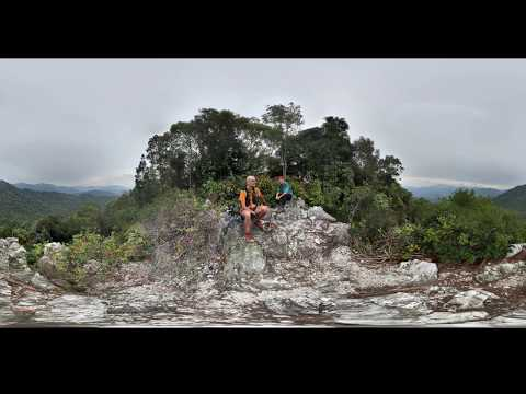 360 View: Batu Kumbang peak