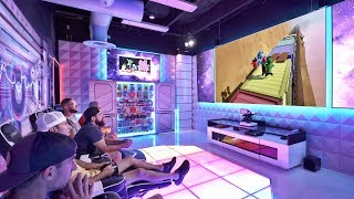 World's Best Gaming Room | Overtime 10 | Dude Perfect Video