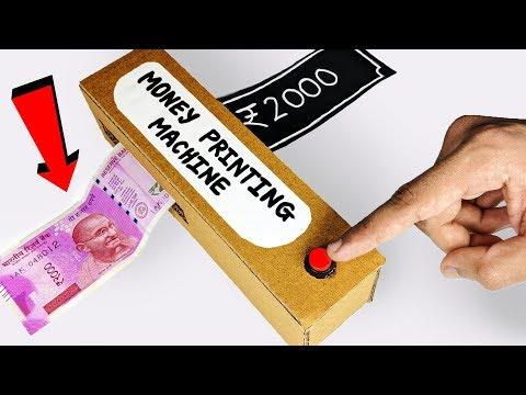 How to make Money Printing Machine