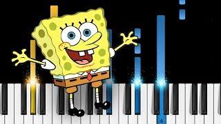 SpongeBob - Theme Song - Piano Tutorial / Piano Cover