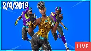 🔴 NEW ITEM SHOP COUNTDOWN || February 4th New Skins || Daily Fortnite Item Shop 🔴