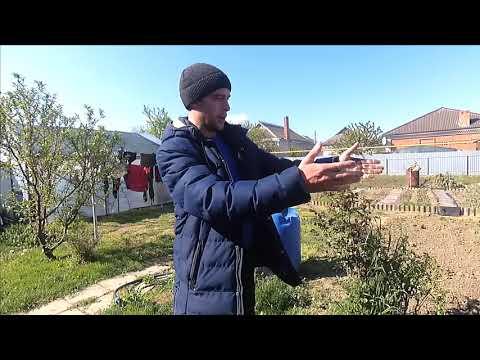 СЛАВЯНСК-НА-КУБАНИ.Полив огорода на Кубани.Бесплатная вода не без труда.